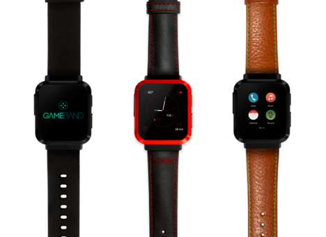Gamer-Focused Smartwatches - The Gameband Smartwatch Features Classic Atari Titles