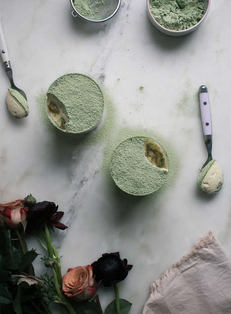 Matcha Tiramisu Recipes - This Green Tea-Infused Dessert is a Matcha Take on a Coffee Classic