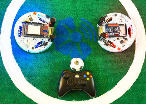 Soccer-Playing Robots - The 'WiSoccero' Robots are Remotely Controlled for Maximum Soccer Fun