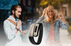 Chic Wearable Gadget Headphones