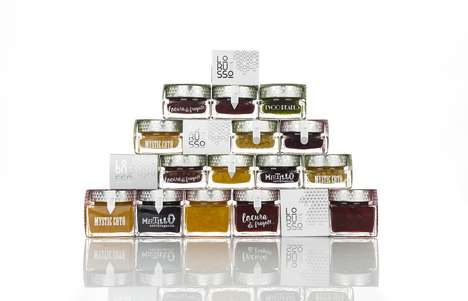 "Experiential Condiment Collections - Lorusso's Products Include Jams and Edible ""Pearls"""