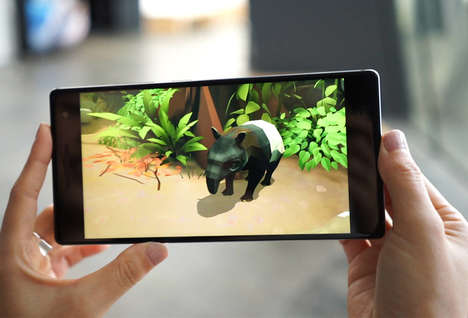 AR Rainforest Exhibitions - The ArtScience Museum's 'Into the Wild' Features Tech from Google