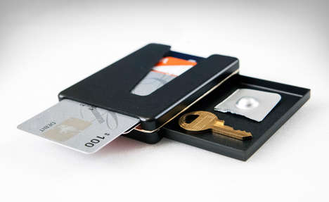 Versatile Storage Wallets - The 'Vessel' Compartment Wallet Conceals Essential Items