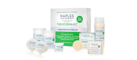 Specialized Eczema Cosmetic Kits - The Naples Soap Company Eczema Kit for Problem Skin is Soothing