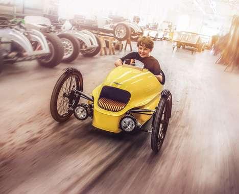 Three-Wheeled Go-Kart Toys