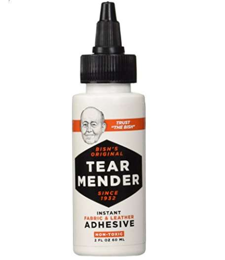 Instant Fabric Adhesives - Tear Mender's Product Efficiently Fixes Torn Fabric and Leather