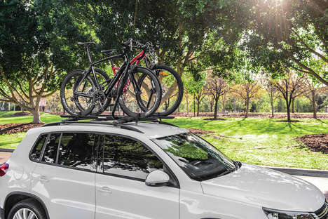 Versatile Bicycle Racks - Rhino-Rack's 'Hybrid Bike Carrier' Can Handle Any Type of Bike