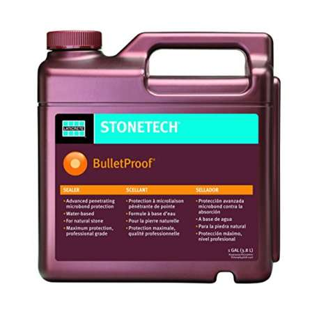 Water-Based Stone Sealers - StoneTech's 'BulletProof Stone Sealer' Provides Long-Lasting Coverage