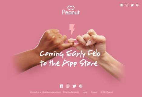Mom-Focused Friendship Apps - The Peanut App Uses Swiping to Help New Moms Find Like Minded Friends