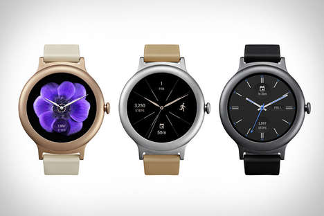 Organically Designed Smartwatches - The LG Watch Style Wearable Comes with Android Wear 2.0