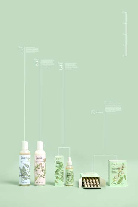 Botanical Hair Care Collections - Syntonics Uses Both Nature and Science to Formulate Its Products