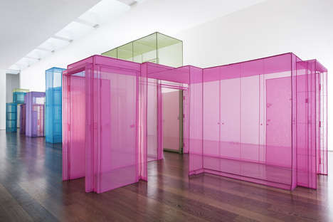 Architectural Fabric Installations - Do Ho Suh's Art at the Victoria Miro Gallery Explores Space