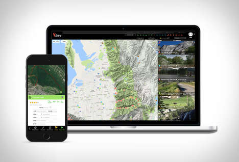 Outdoor Adventure Apps - The 'Bivy' Adventure App Connects Users to Various Outdoor Experiences