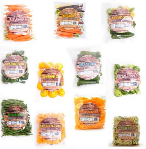 Convenient Ready-to-Cook Vegetables - Melissa's Produce Offers Nearly a Dozen Different Vegetables