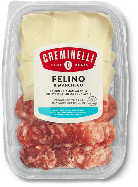 Grab-and-Go Deli Meat Trays - Creminelli Fine Meats' Fresh Snacking Trays Feature High-End Meats