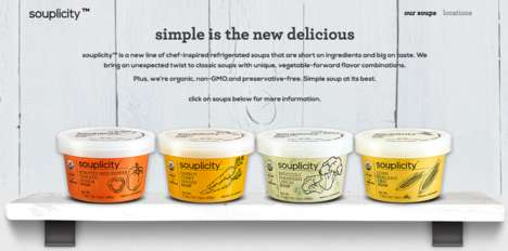 Single-Serving Soup Containers - Campbell's 'Souplicity' Line Comes in Containers Instead of Cans