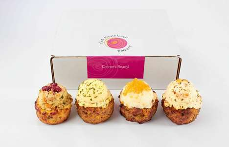 Individual Meatloaf Cups - The Meatloaf Bakery Forms Its Loaves into Bite-Sized Savory Dinner Cups
