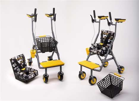 3D-Printed Multifunctional Walkers - This Mobility Aid Boasts a Transformative Design and Add-Ons