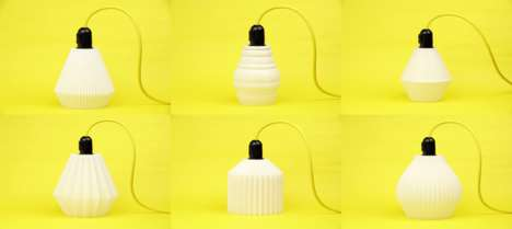 3D-Printed Pendant Lights - CW&T is Creating 100 3D-Printed Unique Pendant Light Designs