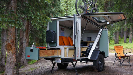 Versatile Camping Trailers - The TAXA 'TigerMoth' Trailer Designs Pack Ample Space and Utilities