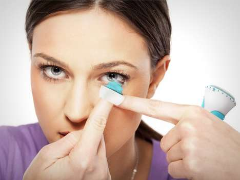 Contact Lens Application Devices - The 'Lenspack' Contact Lenses Case is an All-in-One System