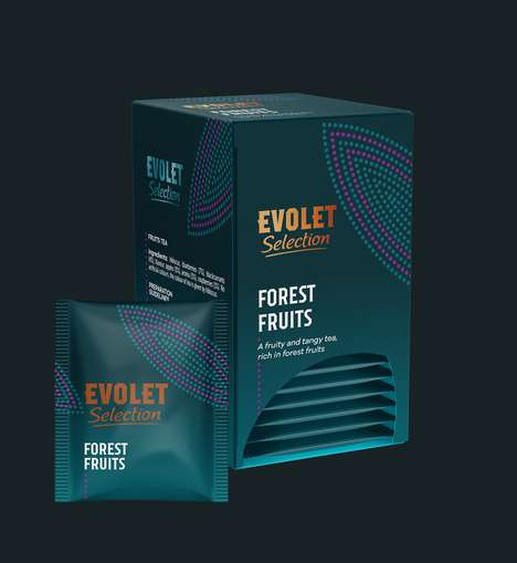 Premium Romanian Teas - The Brand Evolet Selection Offers Artistic Designs on Its Products