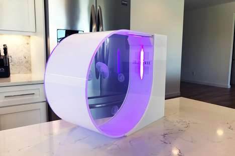 Specialized Jellyfish Aquariums - The 'JellyTank' Home Aquarium is Designed Just for Jellyfish
