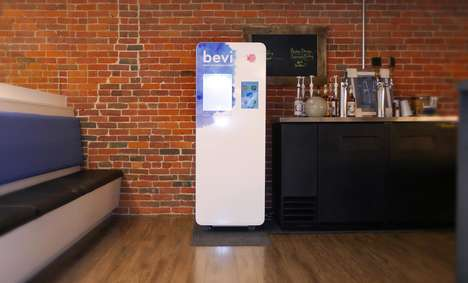 Connected Custom Water Coolers - The Bevi Water Cooler Modernizes the Standard Office Appliance
