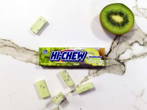 Tropical Kiwi Candies - Hi-Chew Kiwi is the Newest Flavor from the Japanese Candy Company