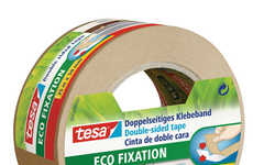 Tesa's Double-Sided Eco Fixation Tape is Eco-Friendly and Durable
