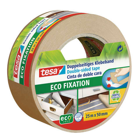 Sustainable Construction Tapes - Tesa's Double-Sided Eco Fixation Tape is Eco-Friendly and Durable