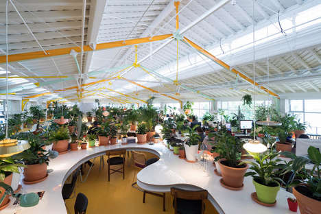 Verdant Coworking Spaces - Selgascano's 'Second Home' Design Features Thousands of Plants