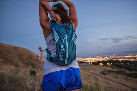 Hydrating Trail Running Packs - The Cotopaxi Veloz Pack Comes with a Two Liter Hydration Reservoir