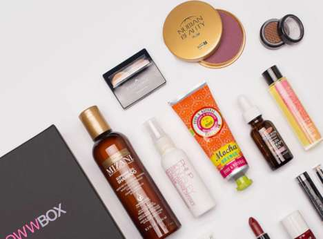 Dark-Skinned Beauty Subscriptions - Glowwbox Focuses on Providing Products for Women of Color