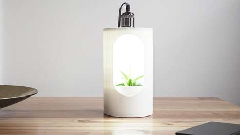 Desktop Seedling Incubators - The LumiLamp Lets Gardeners Grow Seedlings Indoors Year Round