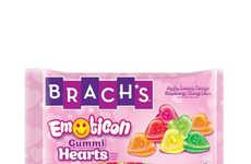 Emotive Gummy Candies - Brach's New Emoticon Gummy Hearts Help Consumers Express Themselves