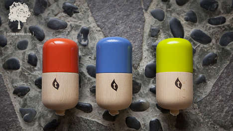 Coordination-Improving Toys - 'The Pill' from Terra Kendama Improves Hand-Eye Coordination