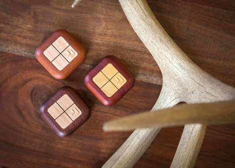 Smart Timber Tech Remotes - The 'Turn Touch' Smart Remote Device Works with Many IOT Products