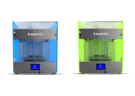 Family-Friendly 3D Printers - The 'Makness' Home 3D Printer is Usable by the Whole Family
