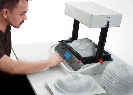 At-Home Vacuum Forming Machines - The 'Vaquform' is a Compact Option That's Affordably Priced
