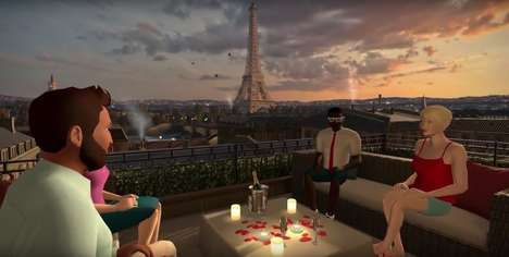 Virtual Socialization Apps - vTime Lets Users Meet Up with Each Other in Any Virtual Environment