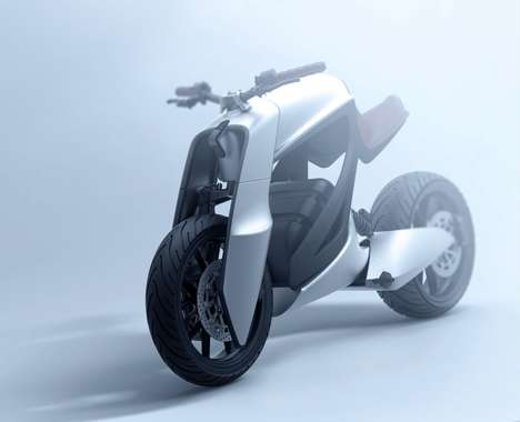 Gorilla-Inspired Motorcycle Bikes