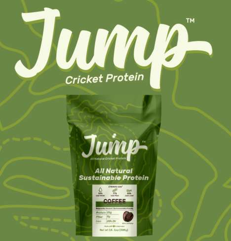Cricket Protein Powders - Bugeater's 'Jump' Protein Powder Shake is Powered by Insects