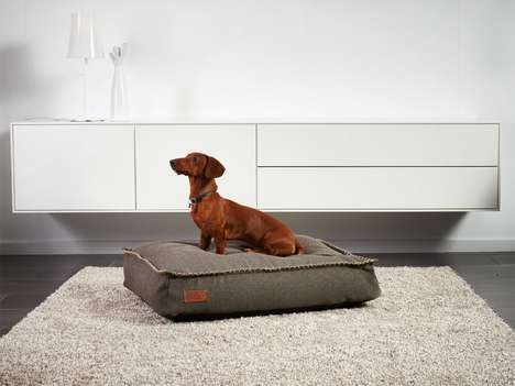 Hand-Stitched Canine Beds - The DOGit 'Cobana' Plush Dog Bed is Water-Resistant and Durably Made