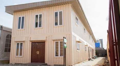 Affordable Shipping Container Apartments - Tempohousing Nigeria Repurposes Old Shipping Containers