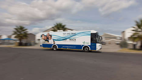 Mobile HIV-Testing Clinics - 'Mobile Health Clinics' is Bringing HIV Testing to Remote Communities