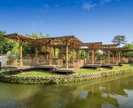Architectural Bamboo Structures