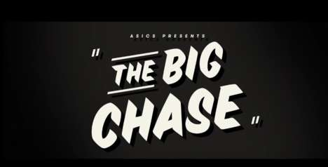 Theatrical Running Experiences - 'The Big Chase' by ASICS Led Runners Through a Film Noir Story