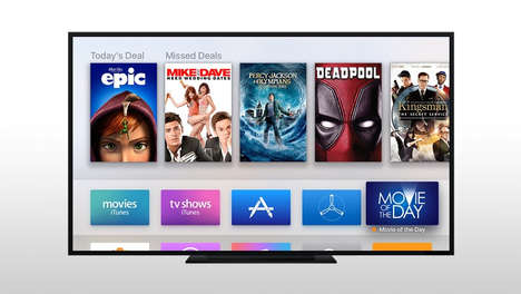 Daily Movie Rental Applications - Fox's 'Movie of the Day' App Will be Available on Apple TV
