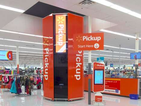 In-Store Pickup Stations - Wal-Mart is Now Piloting a Self-Dispensing Tower for In-Store Pickups